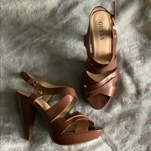 Guess Open Toe Pumps